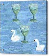 Three Of Cups Acrylic Print