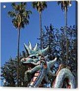 Three Palms Dragon Acrylic Print