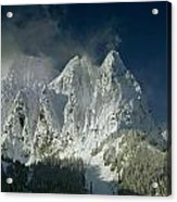 1m4503-three Peaks Of Mt. Index Acrylic Print