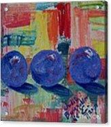 Three Plumcots - SOLD Acrylic Print