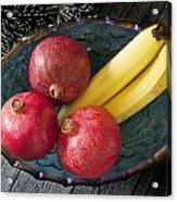 Three Pomegranates  Acrylic Print