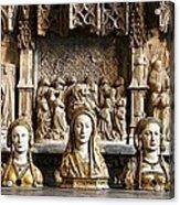Three Saints In Marble Acrylic Print