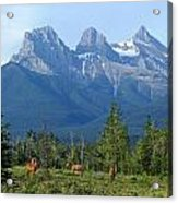 1m3203-three Sisters Faith Hope Charity Acrylic Print
