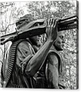 Three Soldiers In Vietnam Acrylic Print