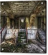 Three Stairs To Nowhere Acrylic Print