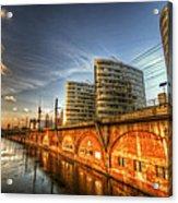 Three Towers Berlin Acrylic Print
