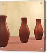 Three Vases Acrylic Print