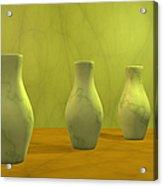 Three Vases II Acrylic Print