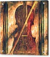 Three Violins Acrylic Print by Bob Orsillo