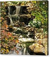 Three Water Falls Acrylic Print