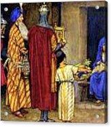 Three Wise Men Bearing Gifts Acrylic Print