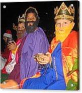 Three Wise Men On Float Christmas Parade Eloy Arizona 2005 Acrylic Print