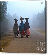 Three Women Acrylic Print