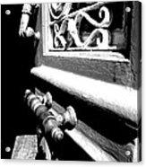 Through An Open Door Into Darkness Acrylic Print