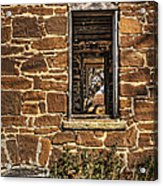 Through Doors And Windows - Abandoned House Acrylic Print