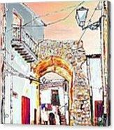 Through The Arch Acrylic Print