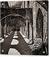 Through The Arches Acrylic Print