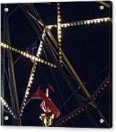 Through The Ferris Wheel Acrylic Print