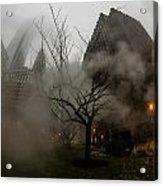 Through The Fog Acrylic Print