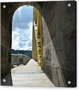 Through The Portal Acrylic Print