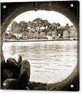 Through The Porthole Acrylic Print