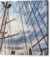 Through The Rigging Acrylic Print
