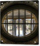 Through The Round Window Acrylic Print