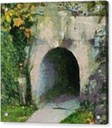 Through The Tunnel Acrylic Print