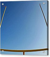 Through The Uprights Acrylic Print