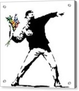 Throwing Love Acrylic Print