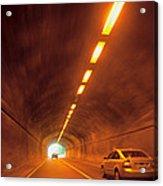 Thru The Tunnel Acrylic Print