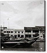 Thu Bon River Hoi An Acrylic Print