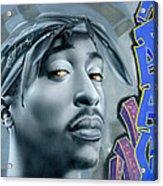Thug Life Acrylic Print by Luis  Navarro