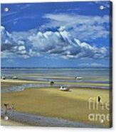 Thumpertown Beach Lowtide Acrylic Print