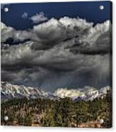 Thunder Mountains Acrylic Print