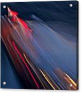 Thunderbird At Night Acrylic Print