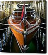 Thunderbird Boathouse  Acrylic Print