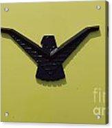 Thunderbird Emblem Acrylic Print