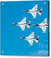 Thunderbird In Formation  Acrylic Print