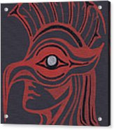 Thunderbird Mask Acrylic Print