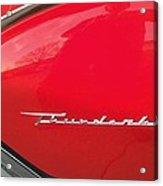 Thunderbird Roads Acrylic Print