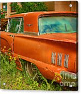 Thunderbird Rusting In Peace Acrylic Print