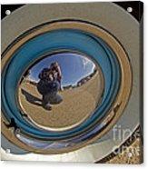 Thunderbird Self Portrait   #8148 Acrylic Print