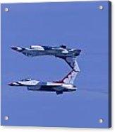 Thunderbird Solos 5 Inverted Over 6 Acrylic Print