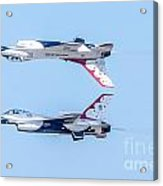Thunderbirds In A Dangerous Formation Acrylic Print