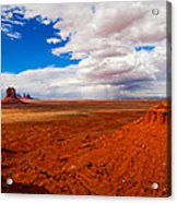 Thunderstorm Artist's Point Monument Valley Acrylic Print