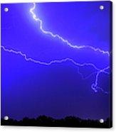 Thunderstorm In The Rain Acrylic Print