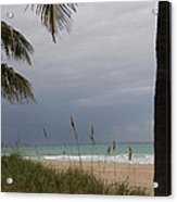 Thunderstorm Sky Acrylic Print