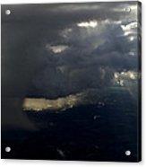 Thunderstorms And Rain Shafts II Acrylic Print