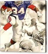 Thurman Thomas Acrylic Print